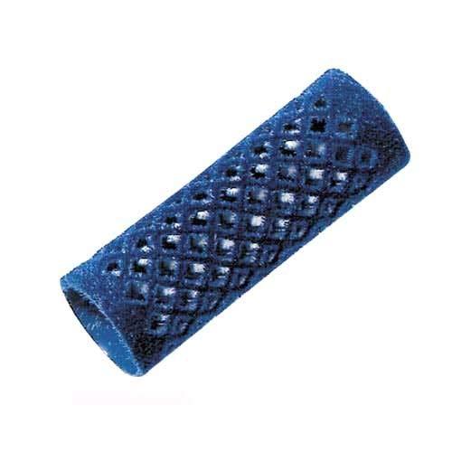 Comair 3012170 Metallwickler, 12 stück, lang 21mm, blau