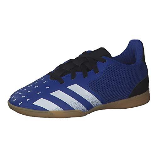 adidas Predator Freak .4 IN Sala J, Zapatillas de fútbol, AZUREA/FTWBLA/NEGBÁS, 37 1/3 EU
