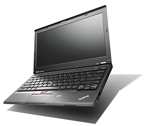 Lenovo Thinkpad X230 Renewed Laptop Core i5-3320M 2.60GHz 12.5in Widescreen Warranty Webcam (8GB Ram, 500GB HDD, Windows 10)