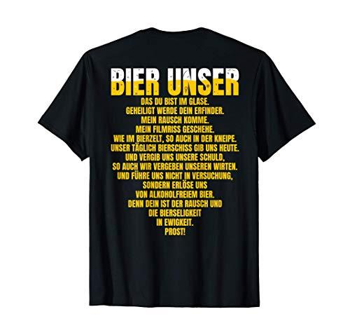 Bier Unser | Bier Gebet | Lustiges Bier T-Shirt