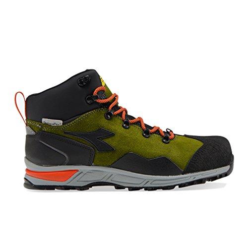 Utility Diadora - Scarpa da Lavoro D-Trail Leather Hi S3 Sra HRO WR per Uomo (EU 40)