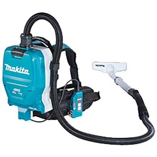 Makita DVC265ZXU Twin 18V (36V) Li-ion LXT Brushless Backpack Vacuum Cleaner - Batteries and Charger Not Included