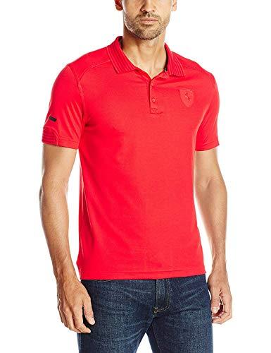 Puma Hombre Ferrari Polo - Rojo -