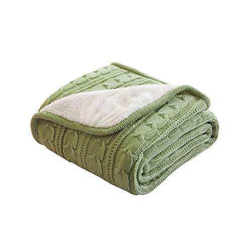 CRXL Shop elektrische zachte deken van katoenmix, zeer zacht en warm, voor baby's, sofa, stoel, auto, kantoor, 120 x 180 cm