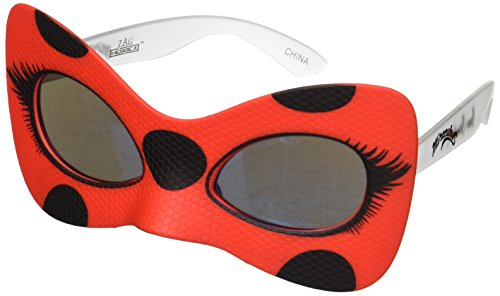 Costume Sunglasses Miraculous Ladybug Sun-Staches Party Favors UV400 Red, 8