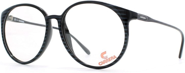 Carrera 5354 50 Black and bluee Authentic Men  Women Vintage Eyeglasses Frame