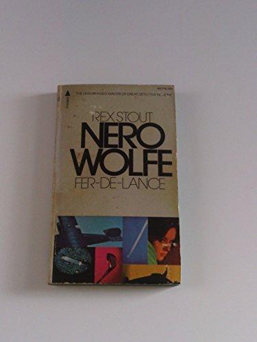 Nero Wolfe:Fer De Lance
