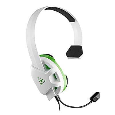 Turtle Beach Recon Chat White Headset - Works with Xbox Series X, Xbox One, PS4 and PS4 Pro