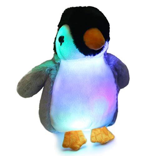Glowing Stuffed Penguin