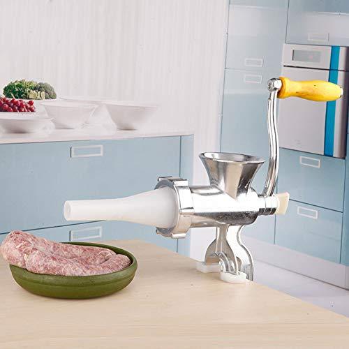 Máquina para hacer salchichas manual Picadora y trituradora de carne Herramientas de cocina manuales