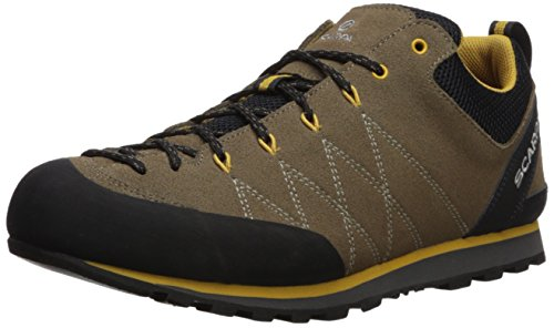 SCARPA Men's Crux Approach Shoe, Light Brown/Mustard, 43.5