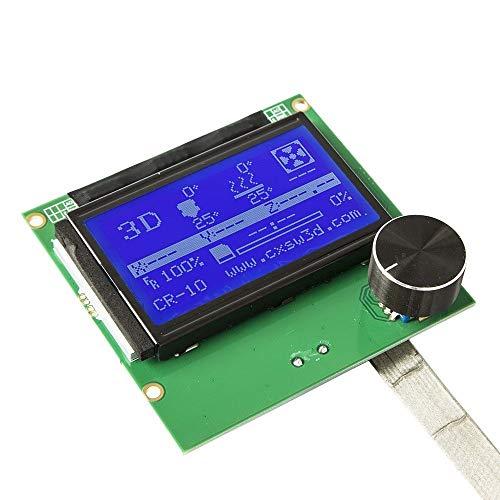 Lxfxin Bürobedarf 2004 LCD Screen Regler Display mit Kabel für Reprap Ramps 1.4 3D Printer Kit Anlage für Creality CR-10 Druckerzubehör (Size : 10)