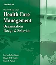 Health Care Management Organization Design & Behavior