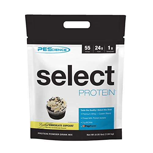 PEScience Select Protein, Frosted Chocolate Cupcake, 55 Serve - 1840 g