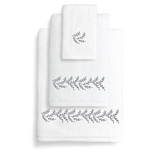 Linum Home Textiles St00–3 C-vine-95 3 pièces Feuilles d'automne Ensemble de Toilette
