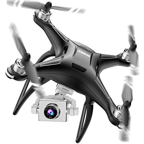 SIMREX X11 GPS Drohne mit 4K HD Kamera 2-Achsen selbststabilisierender Gimbal 5G WiFi FPV Video RC Quadrocopter