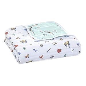 Aden + Anais Dream Blanket | Muslin Baby Blankets for Girls & Boys | Ideal Lightweight Newborn Nursery & Crib Blanket | Unisex Toddler & Infant Bedding | Shower & Registry Gift, Hogwarts Essentials