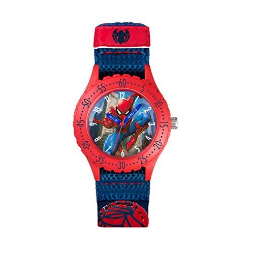 Spiderman Kinder Analog Quarz Uhr mit Gummi Armband SPD3495
