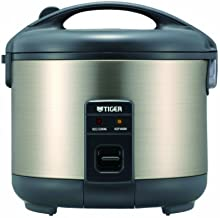 Tiger JNP-S10U Electric 5.5-Cup (Uncooked) Rice Cooker and Warmer with Stainless Steel Finish Home Supply Maintenance Store