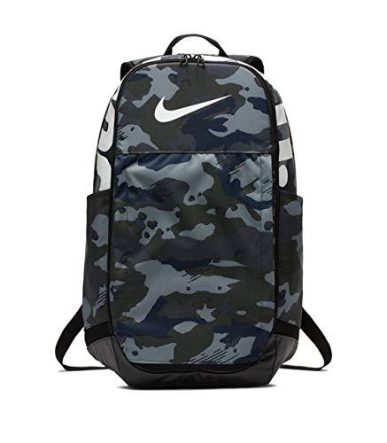 """NIKE Brasilia Backpack, X-Large, 15"""" Laptop - CAMO Dark Grey (CK0942-021)"""
