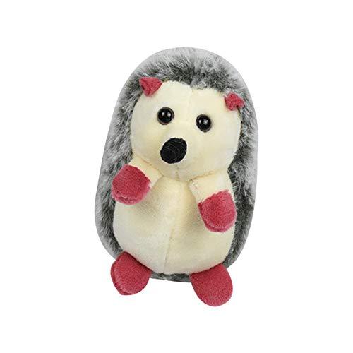 Catkoo Schöne kleine Igel Tier Plüsch gefüllte Puppe Anhänger Tasche Schlüsselbund Dekoration,Perfektes Neues Jahr,Valentinstag,Geburtstagsgeschenk Grass Green