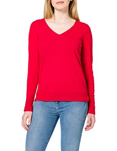 ESPRIT Damen 990EE1I316 Pullover, 630/RED, L