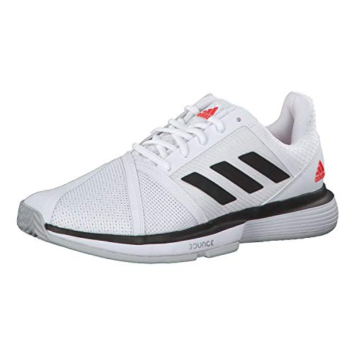 Adidas CourtJam Bounce M, Zapatillas de Tenis para Hombre, Blanco (Ftwbla/Negbás/Grpulg 000), 48 2/3 EU