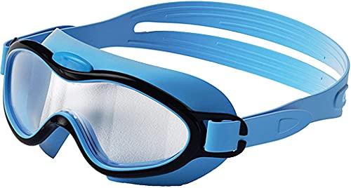 CYANQ Gafas de natación, Gafas de natación para niños y niñas con Espejo antivaho y Gran Campo de visión, adecuadas para niños de 3 a 10 años