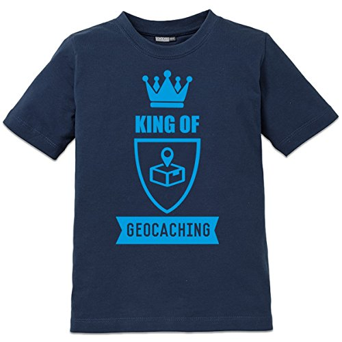 Camiseta de niño King Of Geocaching by Shirtcity