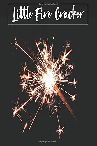 Little Fire Cracker: firework fuse , wedding sparkles , diwali firecrackers , fireworks sticks , 4th of july sparklers , party, birthday , notebook , journal