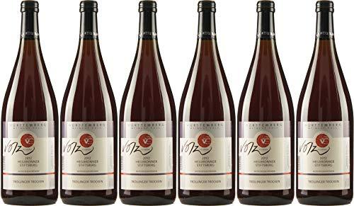 Volz Heilbronner Stiftsberg Trollinger QbA 2018 Trocken (6 x 1.0 l)