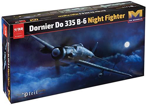 HK Models 1/32 Dornier German Air Force Do335B-6 Night Fighter Plastic HMK01E021