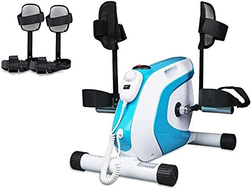 YQG Bicicleta estática para ejercitar con Pedal, Bicicleta para Ejercicios de rehabilitación de hemiplejía para Brazos y piernas, para el hogar, el Trabajo, la Oficina, etc, Resistencia ajustab