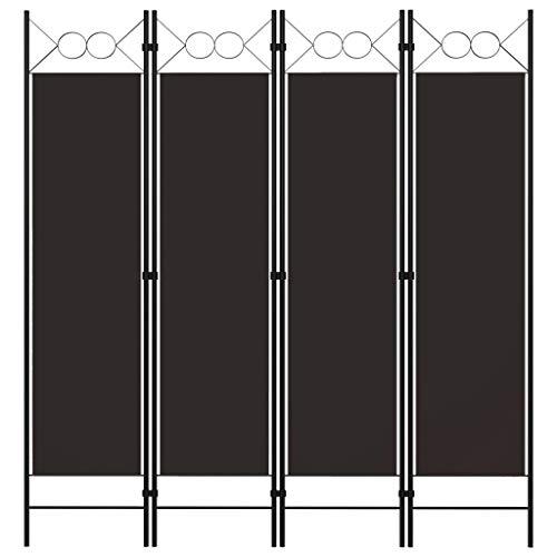 vidaXL Biombo Divisor de 4 Paneles de Pie Plegable Separador Habitación Dormitorio...