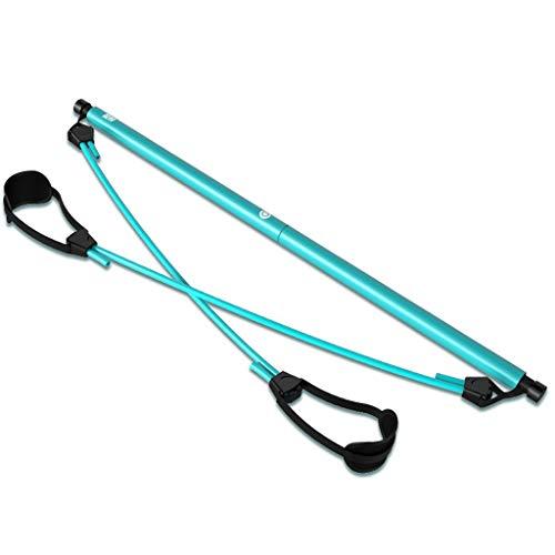 YULAN Pilates Equipo de la Aptitud de Pilates Palo Inicio Yoga Ejercicio de Estiramiento de la Correa del Pedal del Tirador pérdida de Peso Mujer Estiramiento de la Cuerda (Color : Blue)