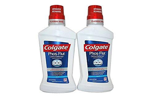 Phos Flur Anti Cavity Fluoride Rinse, Cool Mint, 16.9-Ounce Bottle (Pack of 2)