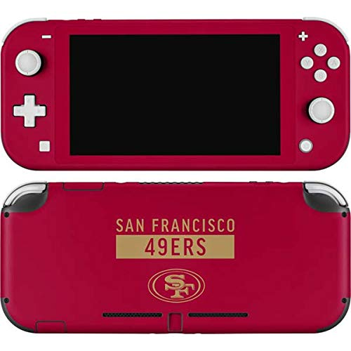 Skinit Decal Gaming Skin Compatible with Nintendo Switch Lite - Officially Licensed NFL San Francisco 49ers Red Performance Series Design