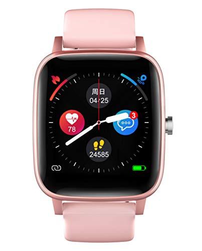 Reloj Smart de Radiant. Colección Queensboro. Reloj rosé con Correa de Silicona Rosa y Malla milanesa Plateada. IP67. 35mm. Referencia RAS10203.