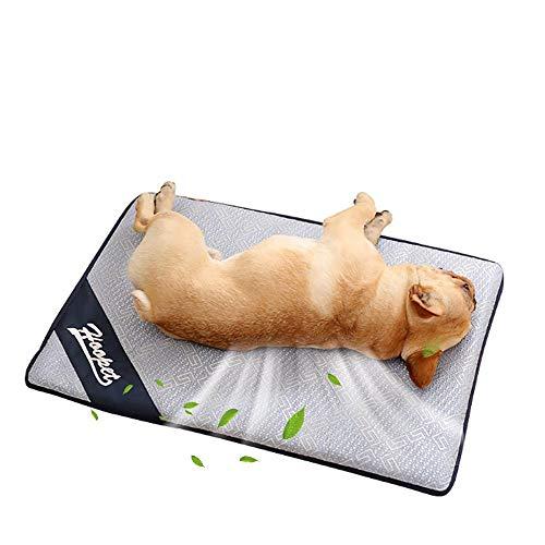 PETCUTE Alfombrilla de Refrigeración para Animales Perros Manta refrescante para Perros Pet Cooling Mat Manta Frio para Perros