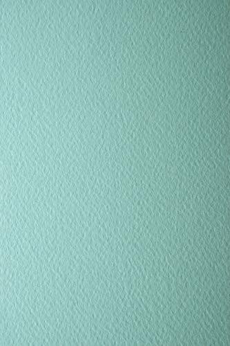 10 Blatt Himmel-Blau 220g Tonkarton einseitig strukturiert DIN A4 210x297 mm Prisma Azzurro Tonkarton mit Struktur bunt Präge-Karton farbig Struktur-Karton Bastelkarton geprägt bunt A4