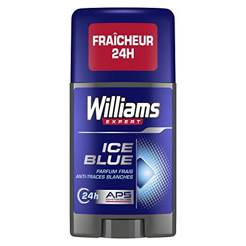 Williams Ice Blue - Desodorante para hombre (75 ml, 2 unidades)