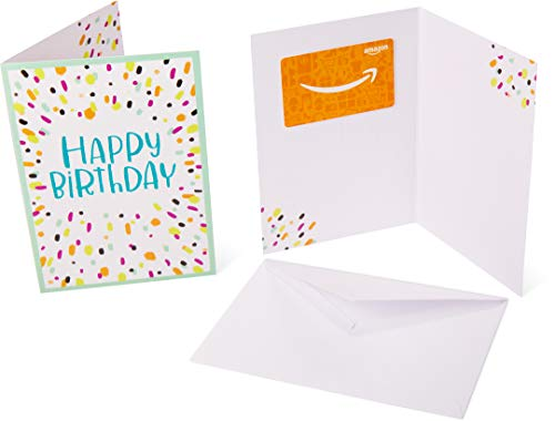 Amazon.ca Gift Card for Any Amount in Birthday Confetti