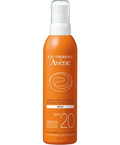AVENE Sonnenmilch-Spray für den Körper, SPF20,200ml und After Sun, 200ml