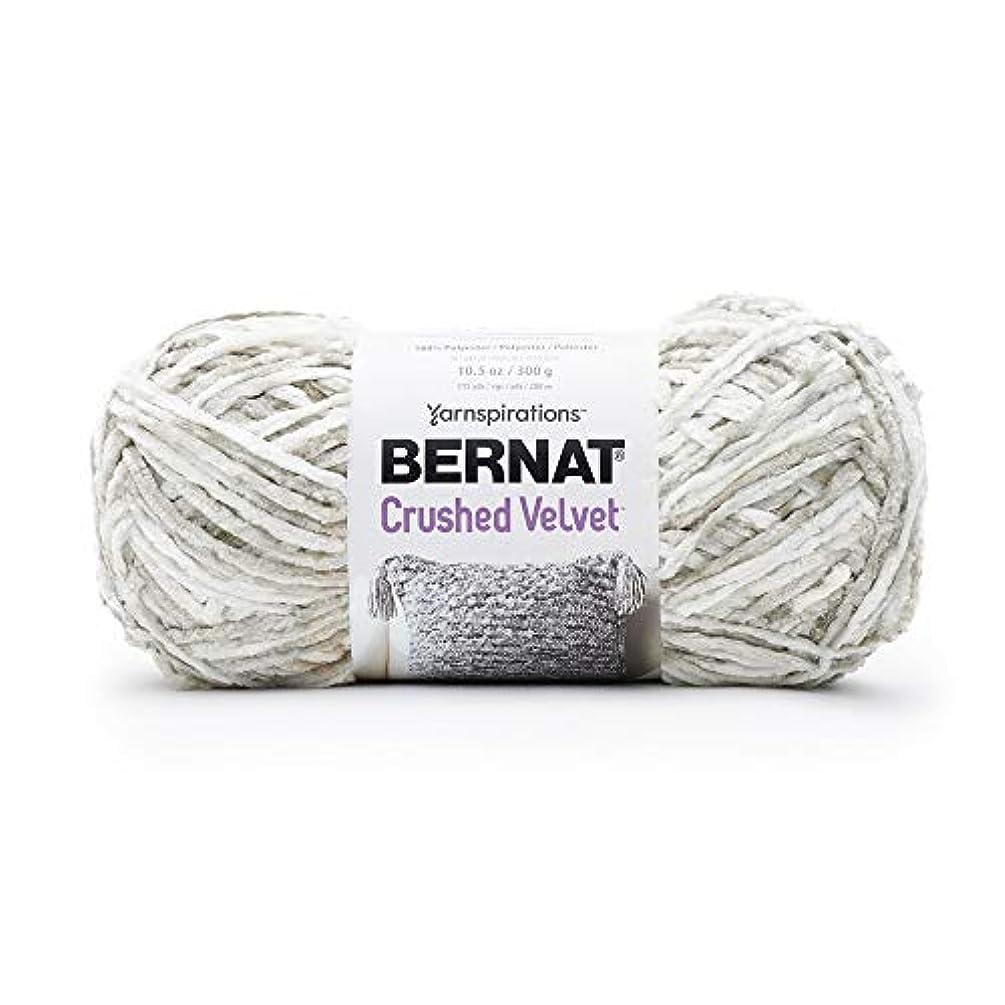 Bernat Crushed Velvet Yarn, White