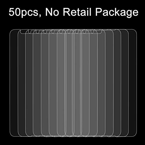 TEMPEREDGLASSFILMLJG 50 PCS for Sony Xperia E4 0.26mm 9H Dureza Superficial 2.5D Película Protectora de Vidrio Templado a Prueba de explosiones, sin Paquete al por Menor