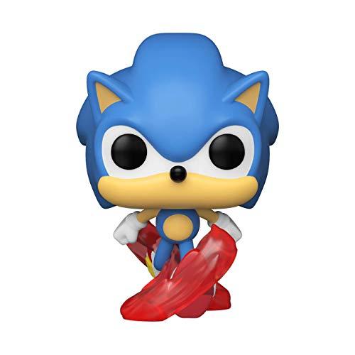 Funko-  Pop Games 30th- Running Sonic Figura coleccionable,  Multicolor (51964)