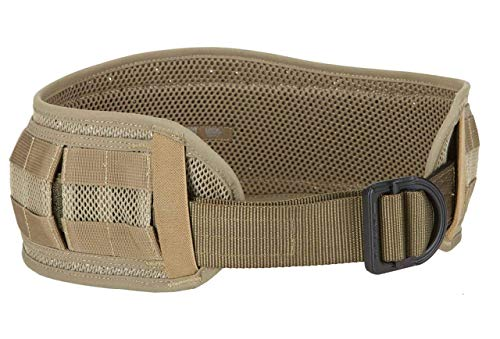 5.11 VTAC Combat Battle Belt with MOLLE for Range Airsoft Combat, Style 58642, Black, 2/3X