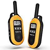 Radioddity PR-T2 Walkie Talkie PMR446 Long Distance 16 Channels Professional Two Way Radio for Adults...