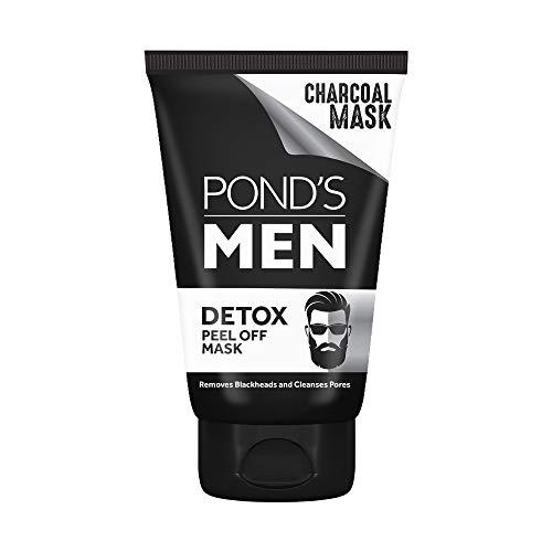 POND'S Men Charcoal Blackhead Removal Detox Peel Off Mask, 75 g