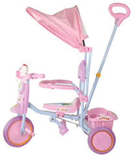 OLD TOYS Triciclo con capota rosa – Juegos de montar y sobre ruedas